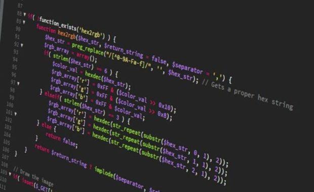 Web Developer Computer Screen